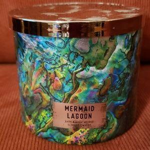 🧜♀️BBW 3-Wick Mermaid Lagoon Candle 🧜♀️